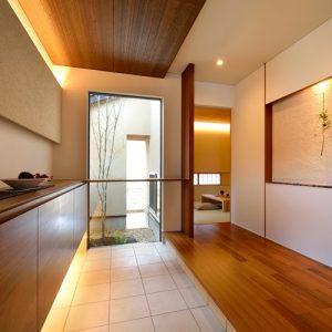 石川の注文住宅玄関例3
