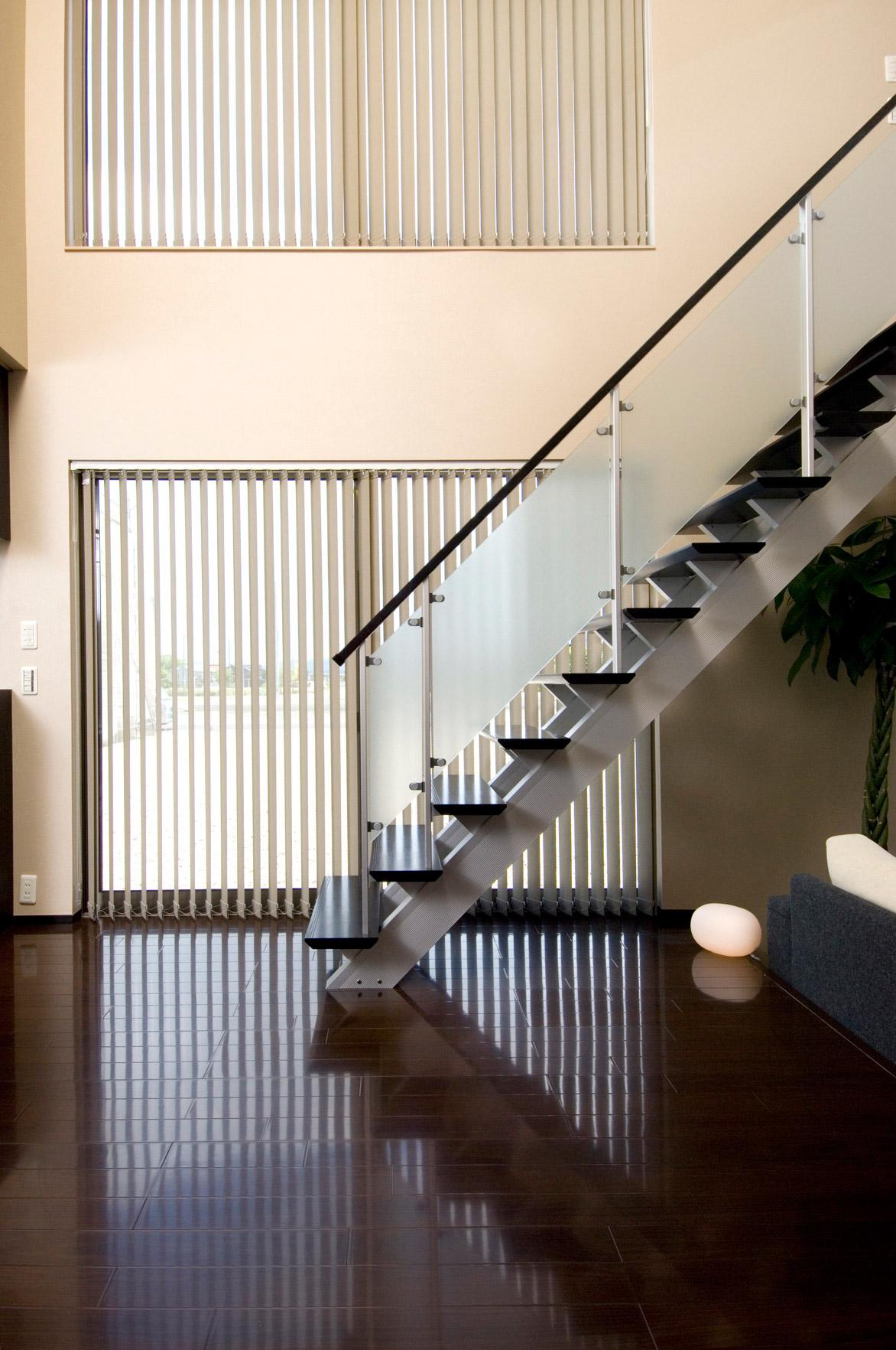 白山市モデル/階段