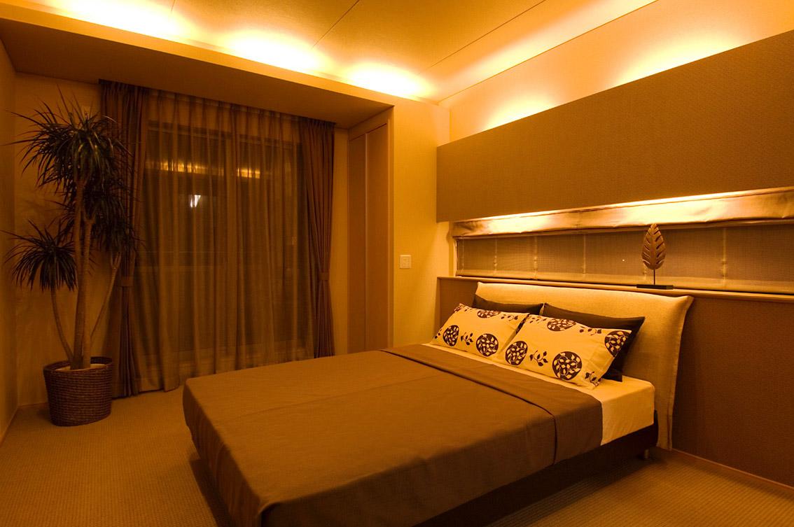 金沢瑞樹モデル/寝室
