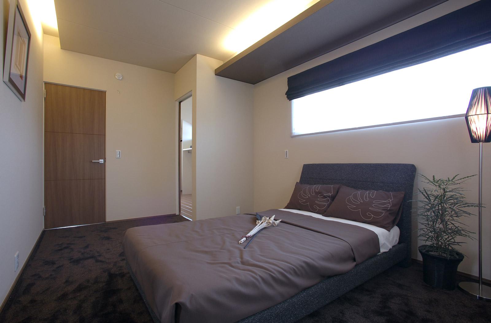 野々市つばきの郷モデル/寝室