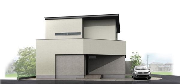 白山市新成モデル ダブル断熱の家