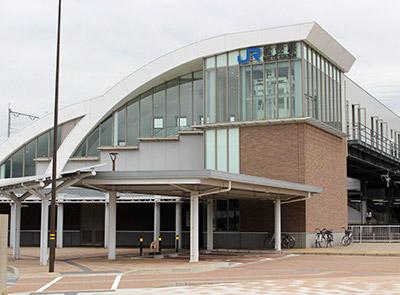 JR松任駅