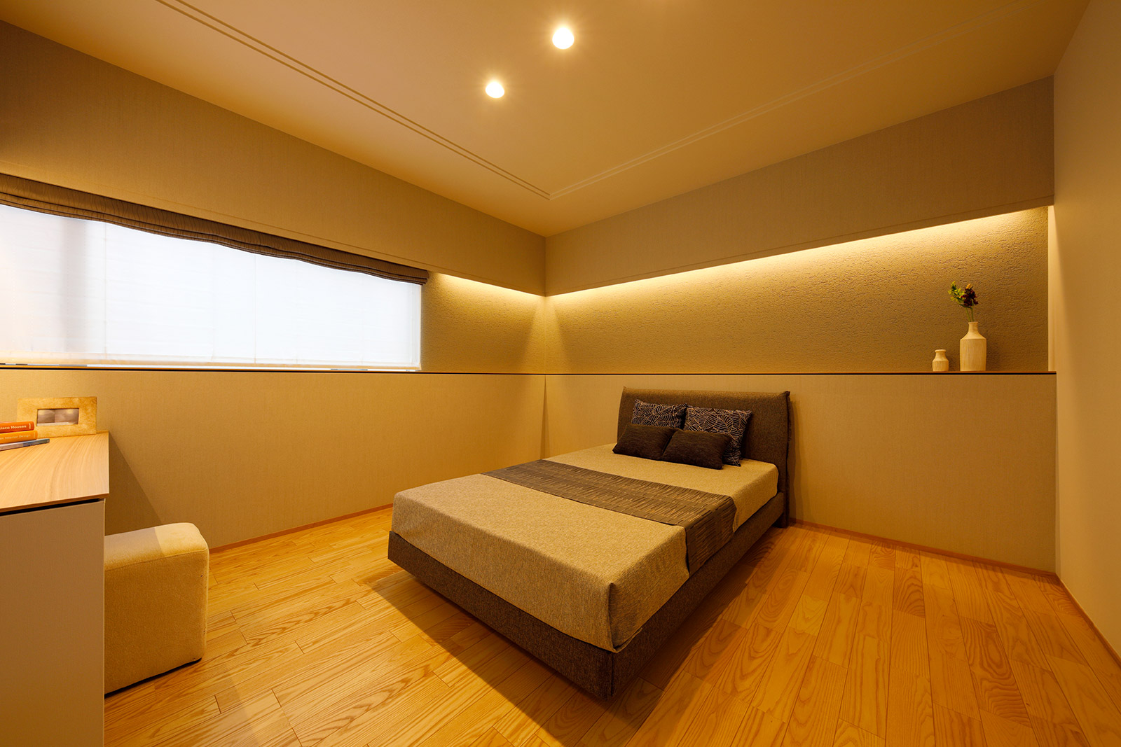 金沢市S氏邸/寝室